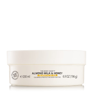 The Body Shop Almond Milk & Honey Soothing & Restoring Body Butter 200ml_Price - Rs. 1295