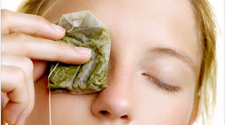 cold tea bags for dark circles