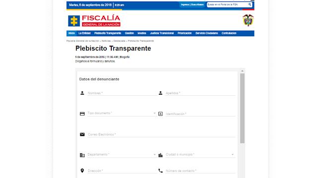 Fiscalía y Registraduría lanzan estrategias para un Plebiscito Transparente