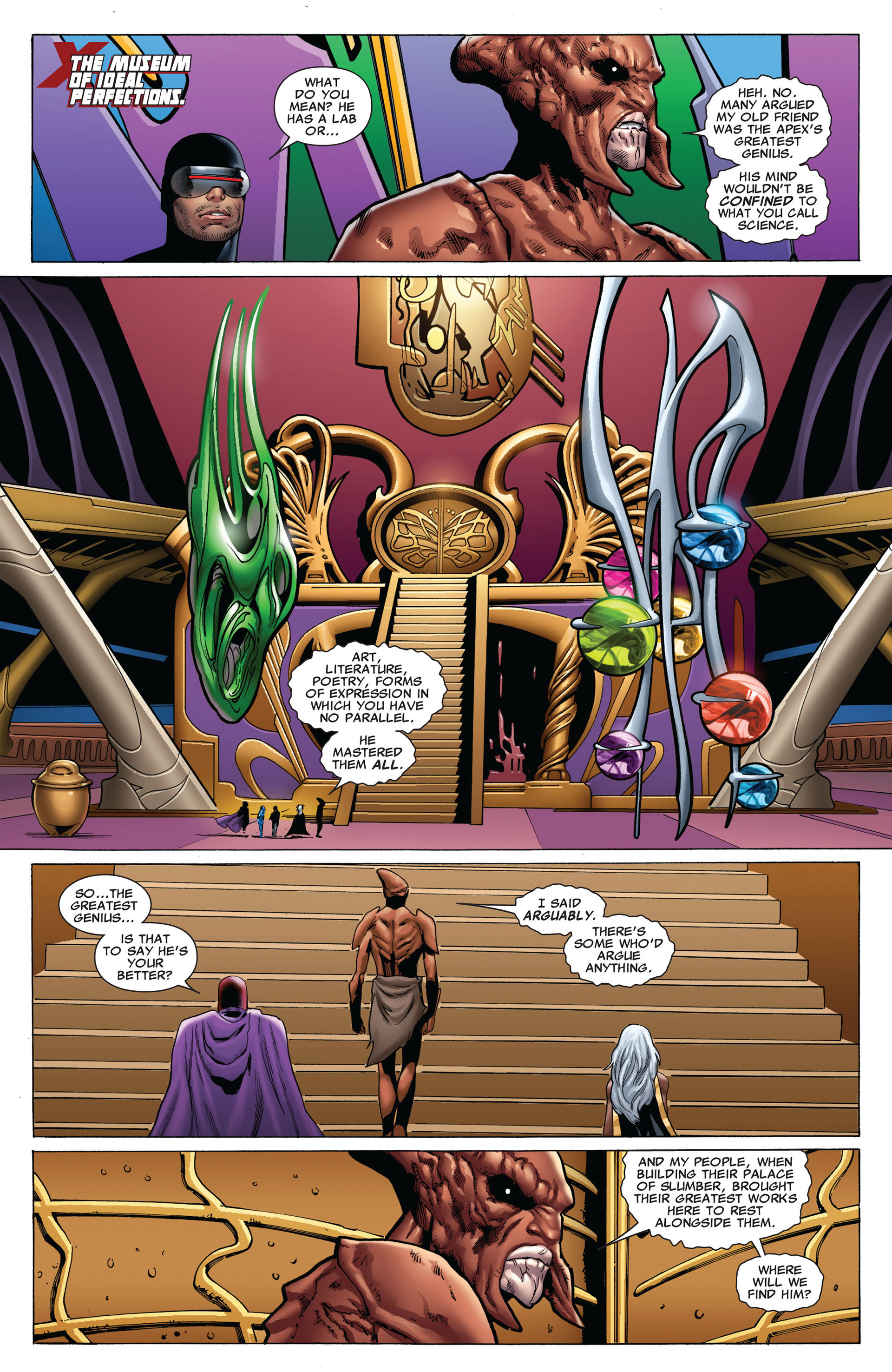 Read online Uncanny X-Men (2012) comic -  Issue #7 - 6