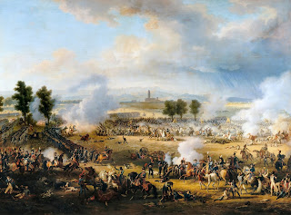 Painting of the Battle of Marengo