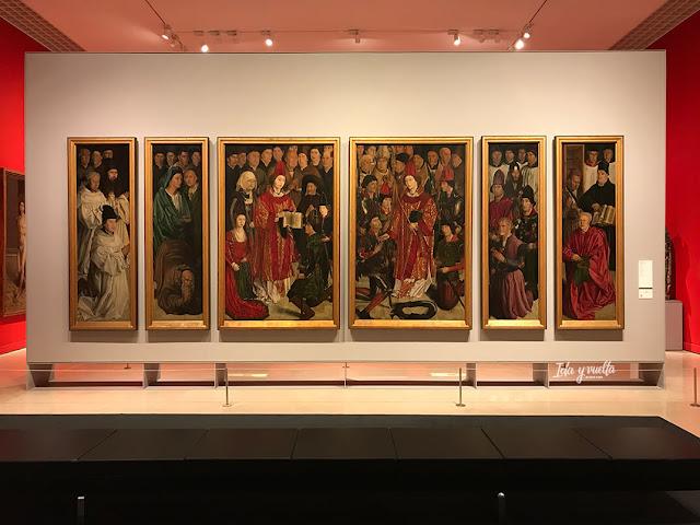 Paneles de San Vicente en Museu Nacional de Arte Antiga