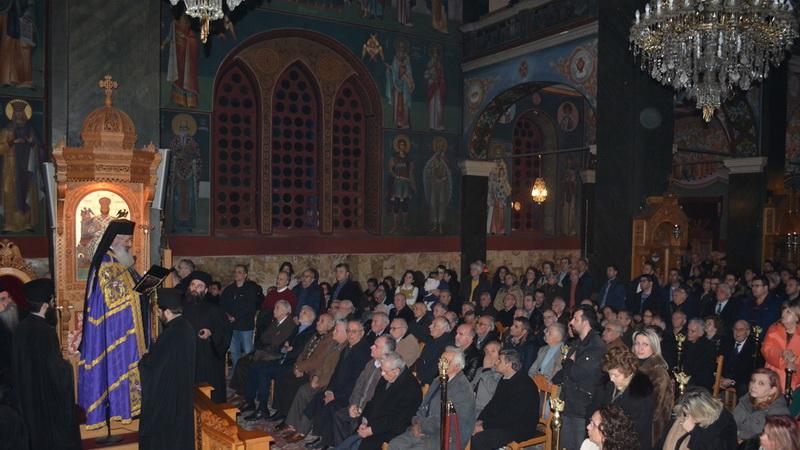Πλήθος κόσμου στον Α' Κατανυκτικό Εσπερινό στο Μητροπολιτικό Ναό Αγίου Νικολάου Αλεξανδρούπολης
