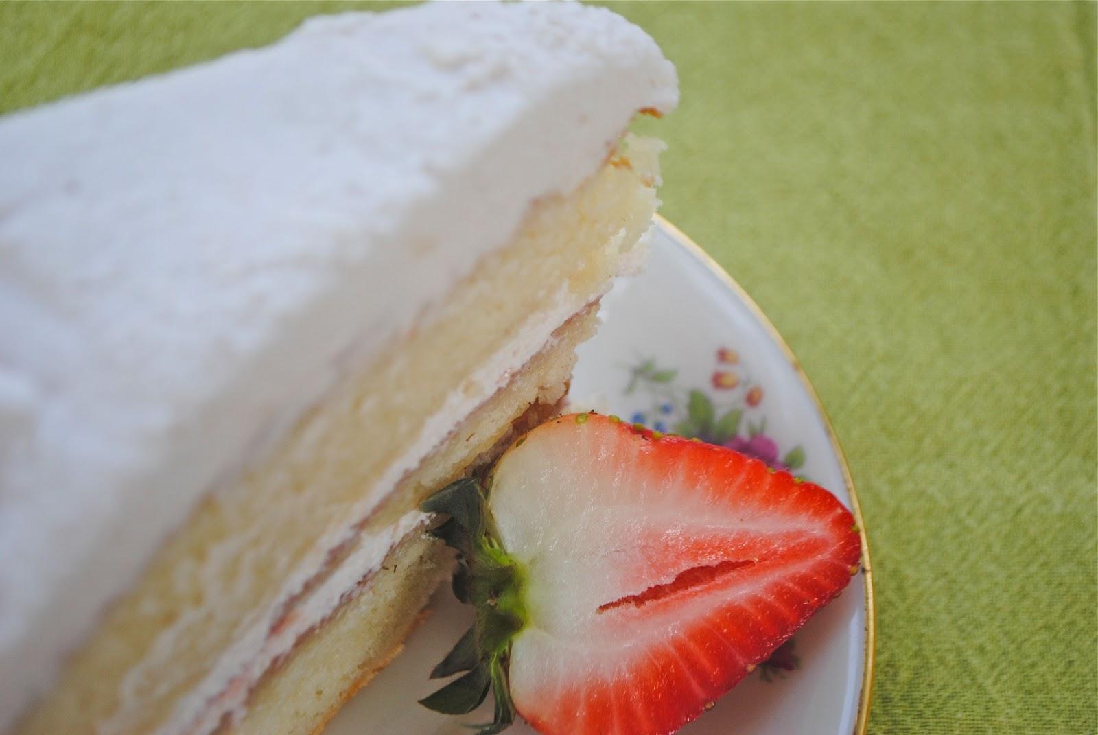 Edmonds Vanilla Cake