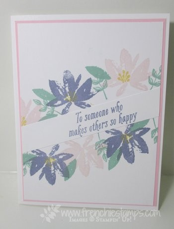 Avant Garden Sale a Bration 2017 Stampin'Up!, Diagonal Greeting, fenchiestamps
