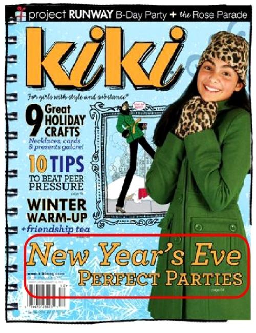 New Year's Party Ideas for Kiki Magazine