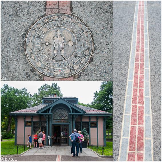 Centro de visitantes en Boston Common-The freedom trial