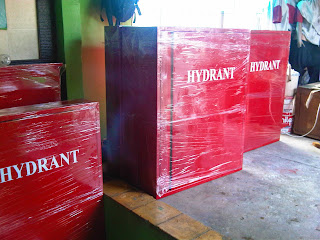 Hydrant Box type A1 dan Hydrant box type A2 Indoor type