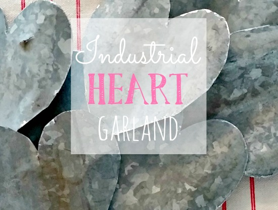 How to make industrial hearts from corrugated metal