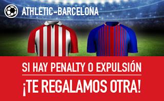 sportium promocion 25 euros Athletic vs Barcelona 28 octubre