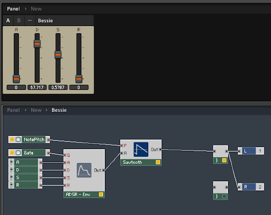 Building a Custom Synthesizer in Reaktor part 4: Filter