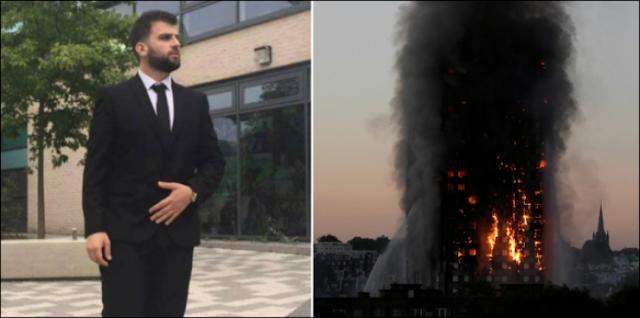 الرسالة الأخيرة للاجئ سوري توفي بحريق لندن ..هرب من الحرب والقتل في سوريا ليحرق في لندن ! رسالة مؤثرة