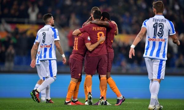 Pescara vs AS Roma