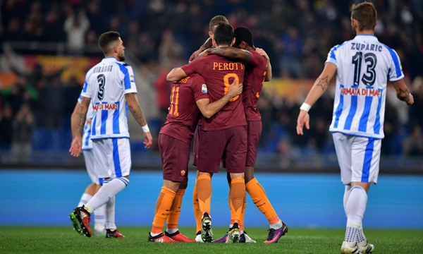 Pescara vs AS Roma