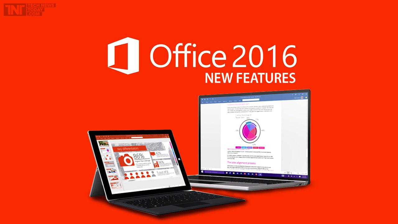 Inilah 10 Fitur Baru yang Ada di Microsoft Office 2016