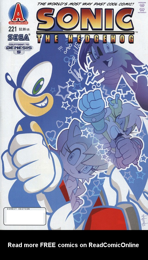 Sonic The Hedgehog (1993) 221 Page 1