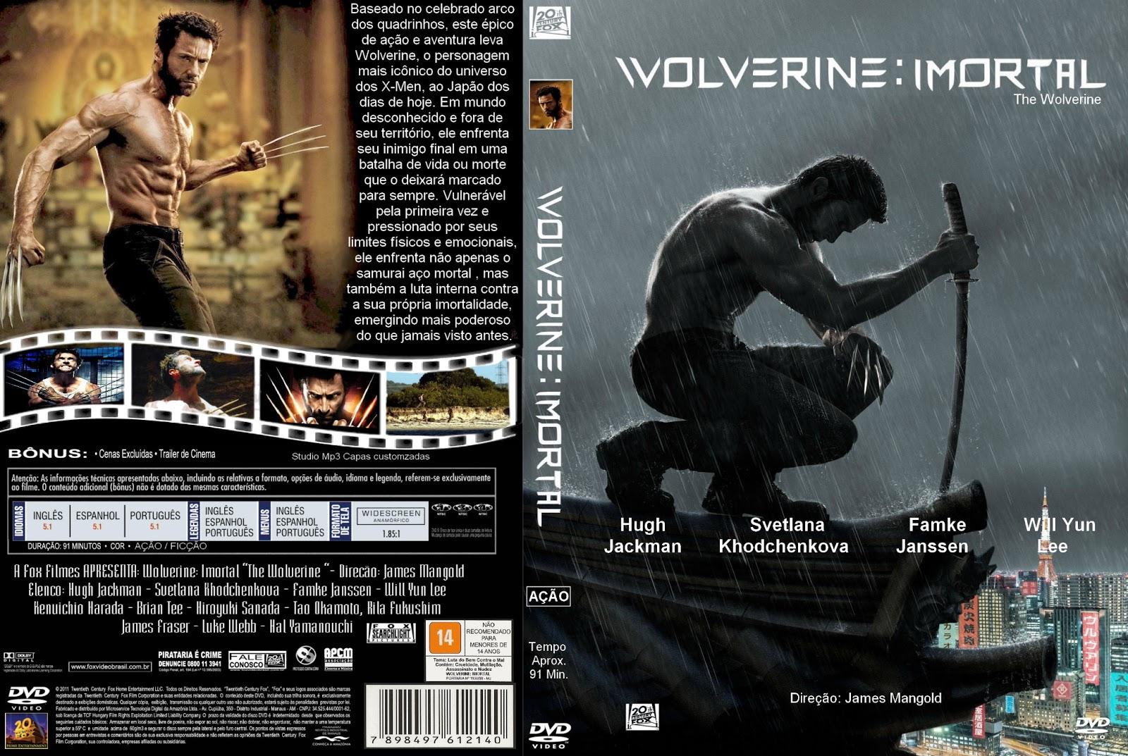 o filme wolverine imortal dublado dvdrip