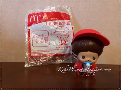 kiki monchhichi tribu blitz glitz monchinelles bebichhichi cool dude mac donald happy meal malaysia