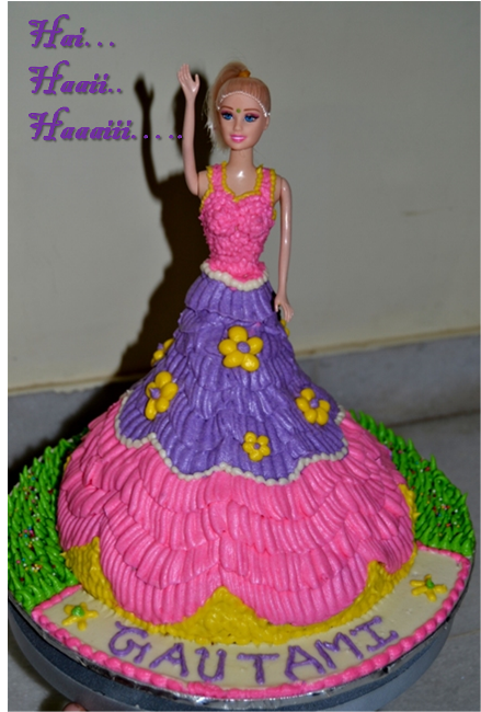 Barbie Doll Cake Recipe Uk