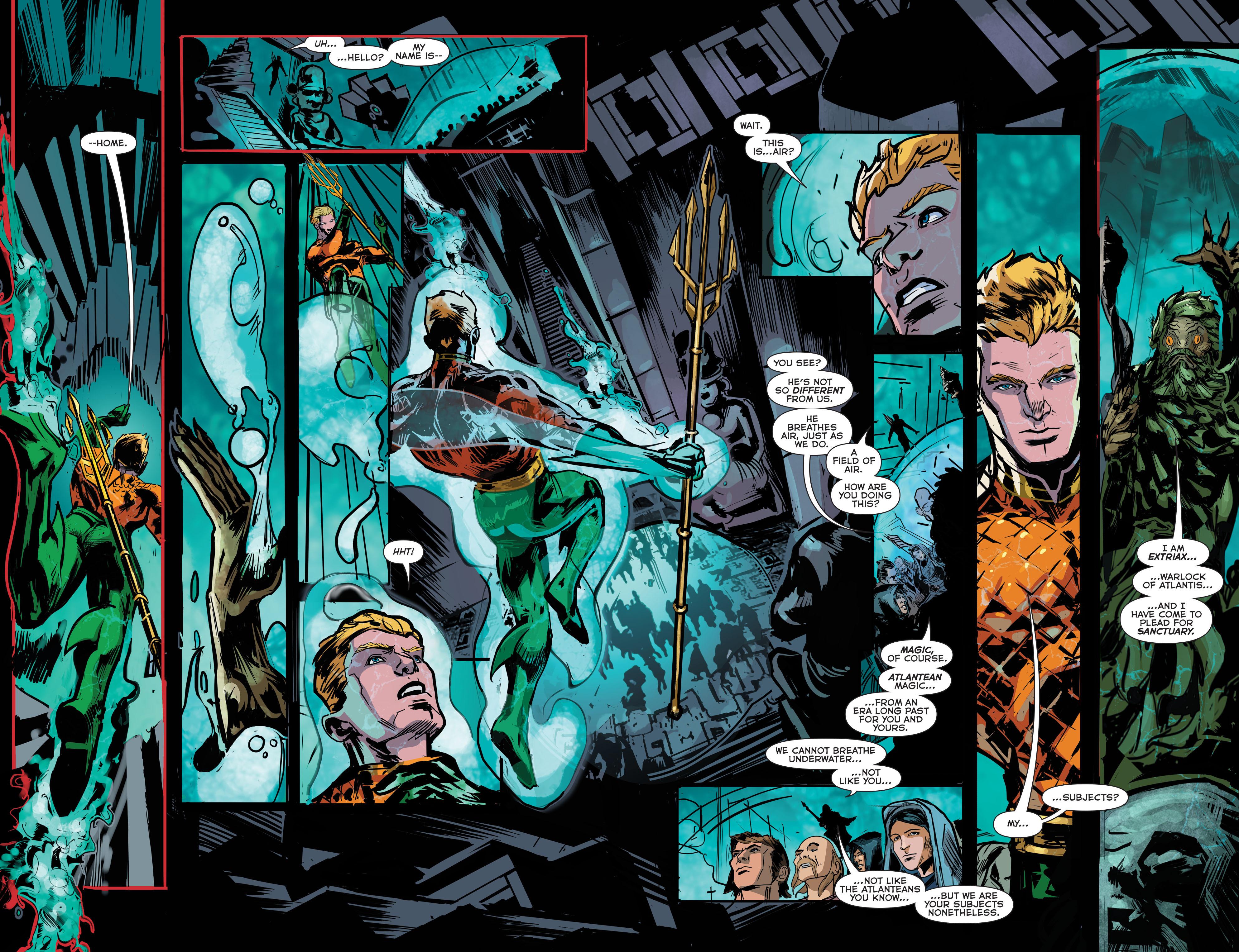 Read online Aquaman (2011) comic -  Issue #42 - 11
