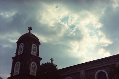 Our Lady of Light Parish Church dark