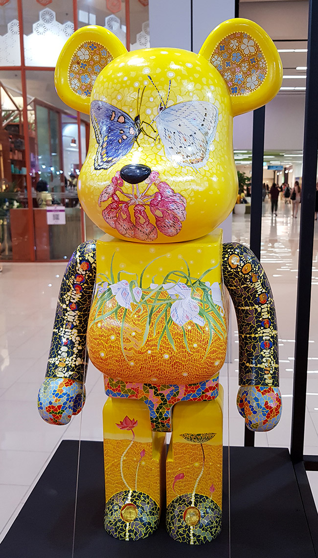 Jessada Kongsommart เจษฎา คงสมมาศ - Color Me Bear 2018 designer Be@rBrick toy