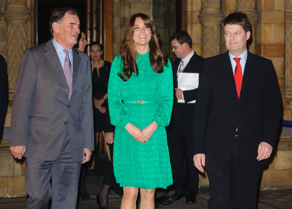 Kate Middleton attended the official opening of The Natural History Museums's Treasures Gallery