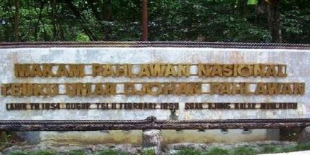 Makam Pahlawan Nasional Teuku Umar