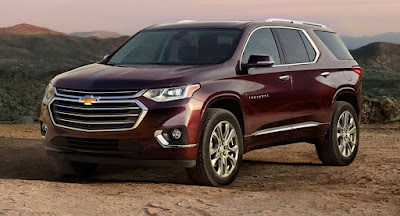 Chevrolet Traverse 2018 Review, Specs, Price