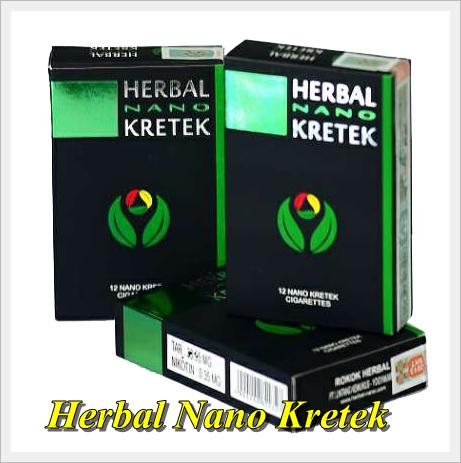 Rokok Herbal Nano