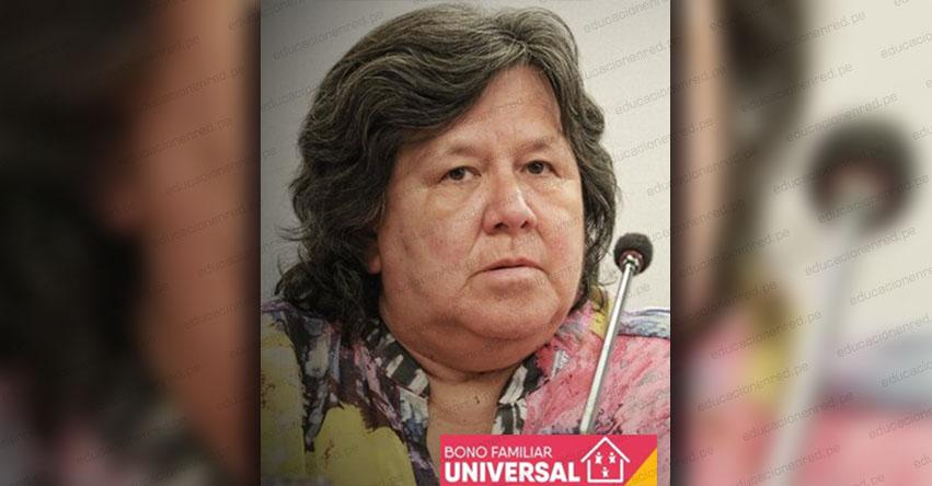 BONO FAMILIAR UNIVERSAL: La reacción de la ministra del MIDIS cuando le dicen que el LINK del Registro Nacional de Hogares no abre