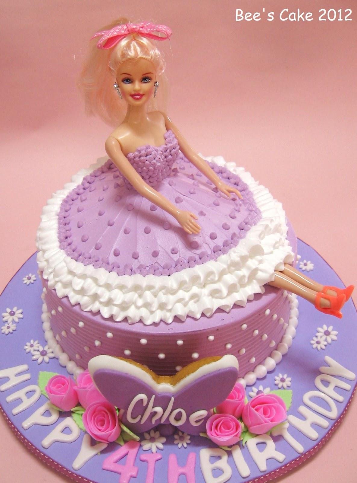 Bee S Cake Girl In Purple