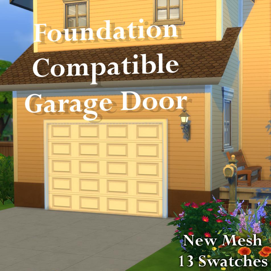 My sims 4 blog makeshift basketball hoop garage door for Sims 4 garage