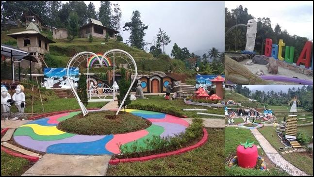 Batu Apung Alam Hijau Tempat Wisata Anak Dan Keluarga Di