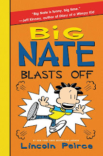 Big Nate Blasts Off by Lincoln Peirce book cover