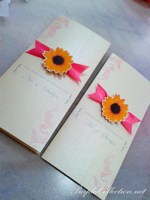 Sunflower Wedding Invitation Card, Sunflower, Wedding, Invitation Card, Wedding Invitation Card, Invitation, Card, Nie & Suelyn