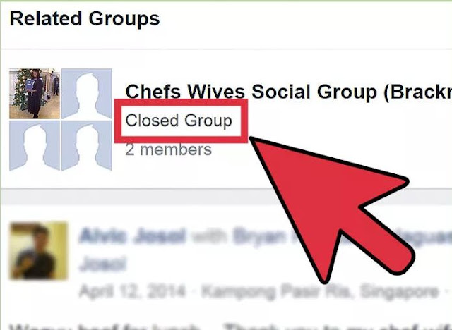 How To Join A Group On Facebook step 2