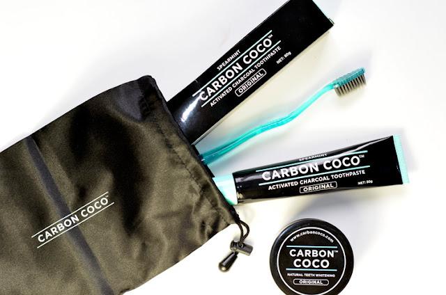 Carbon Coco Ultimate Carbon Kit отбеливание зубов дома углем