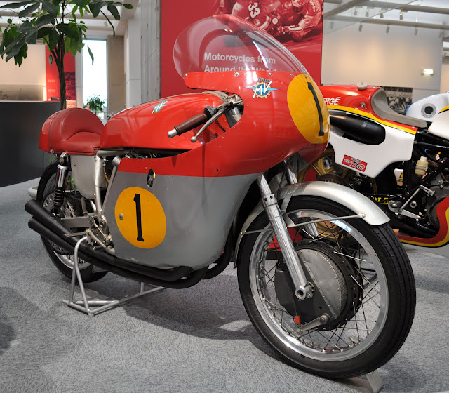 MV Agusta 500 Four Italian classic racing motorcycle