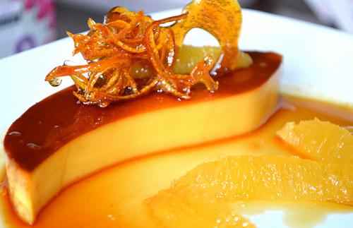 Bánh flan cam