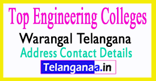 Top Engineering Colleges in Warangal Telangana