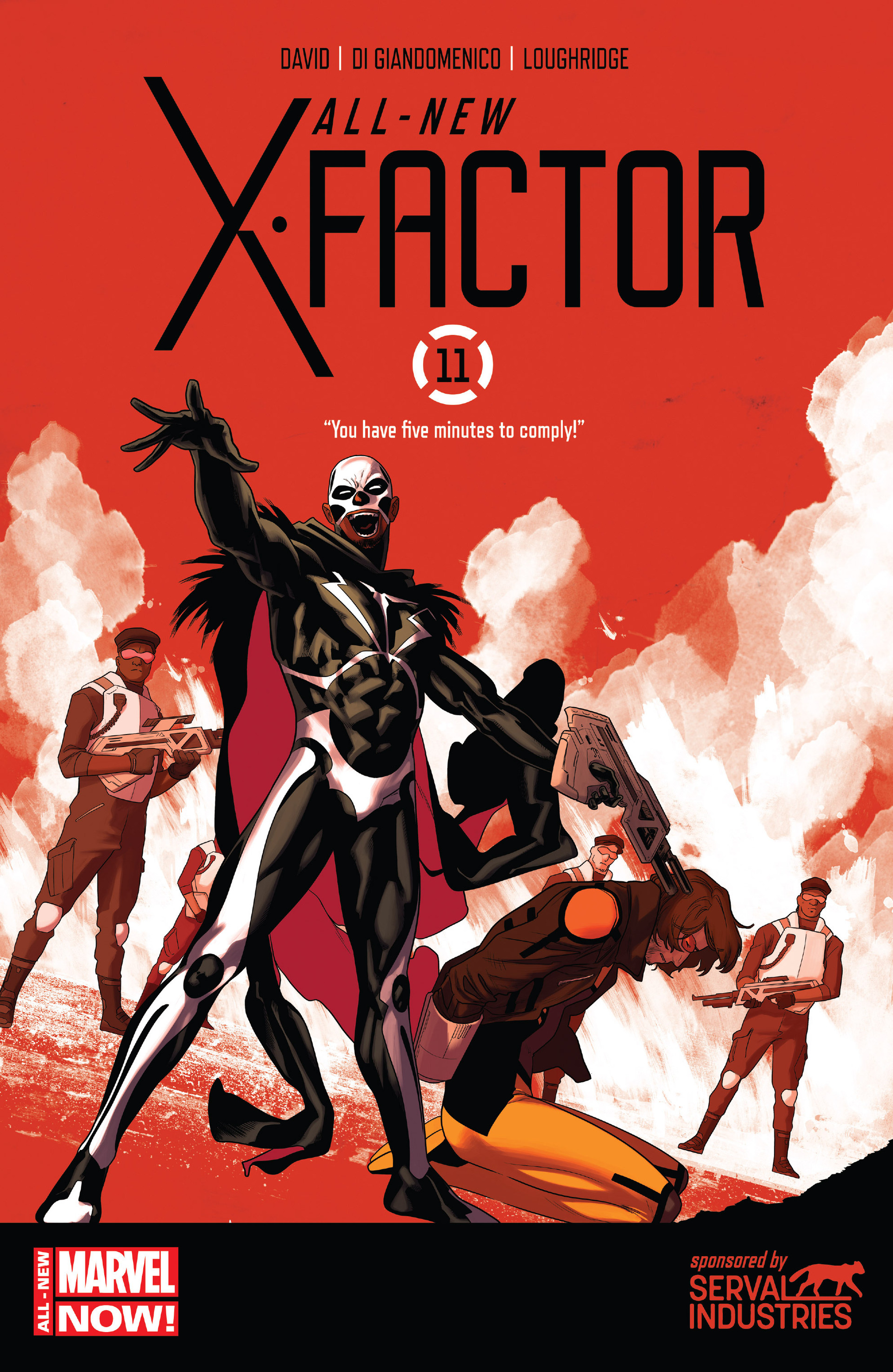 Read online All-New X-Factor comic -  Issue #11 - 1