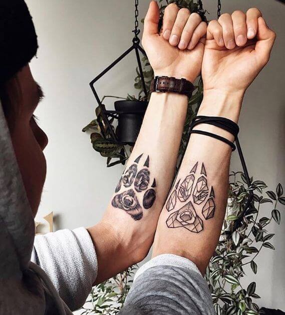 Wolf claw Tattoos