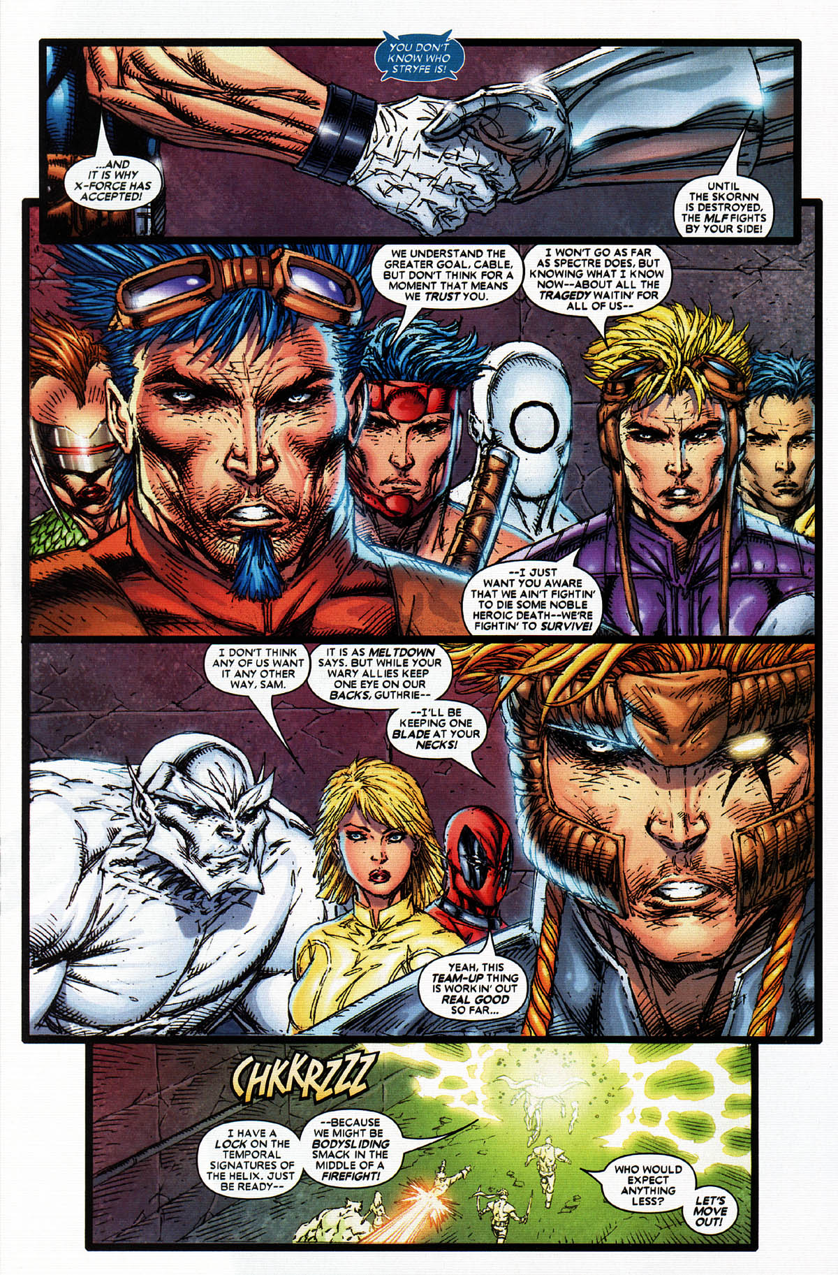 Read online X-Force (2004) comic -  Issue #5 - 29