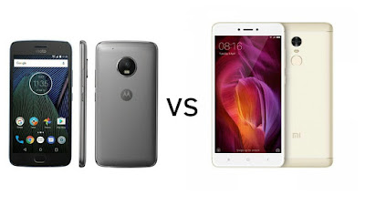 Moto G5 Plus vs Xiaomi Redmi Note 4