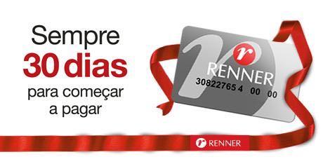 lojas renner cartão de credito
