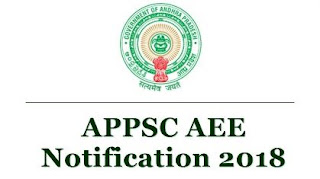 APPSC AEE Notification for (Civil, Mech and Electrical)
