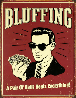 Bluff raising the flop in poker