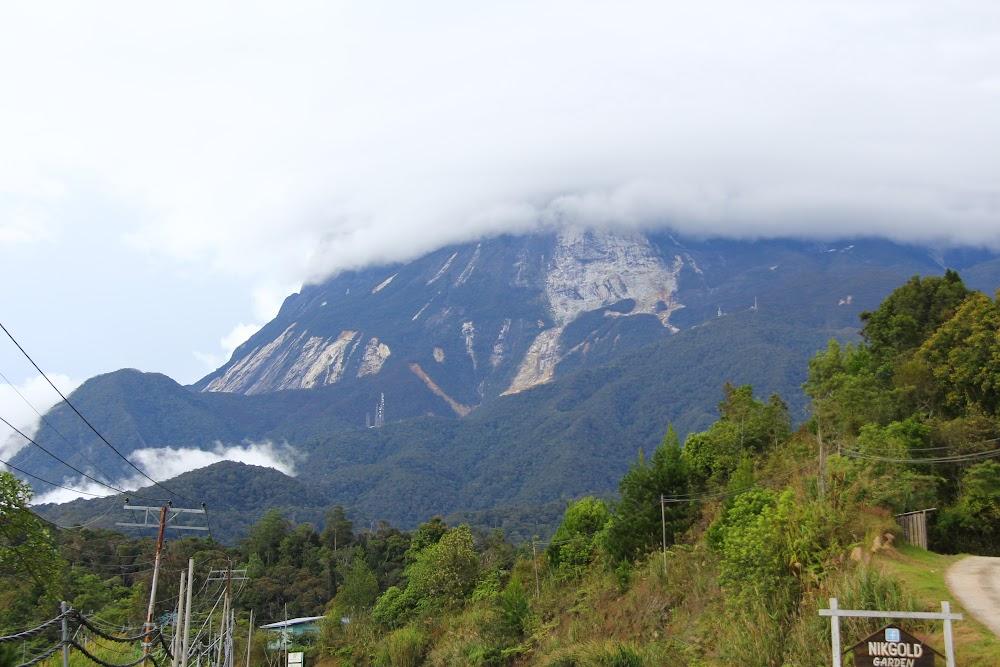 Kinabalu dari Mile 36 Lodge