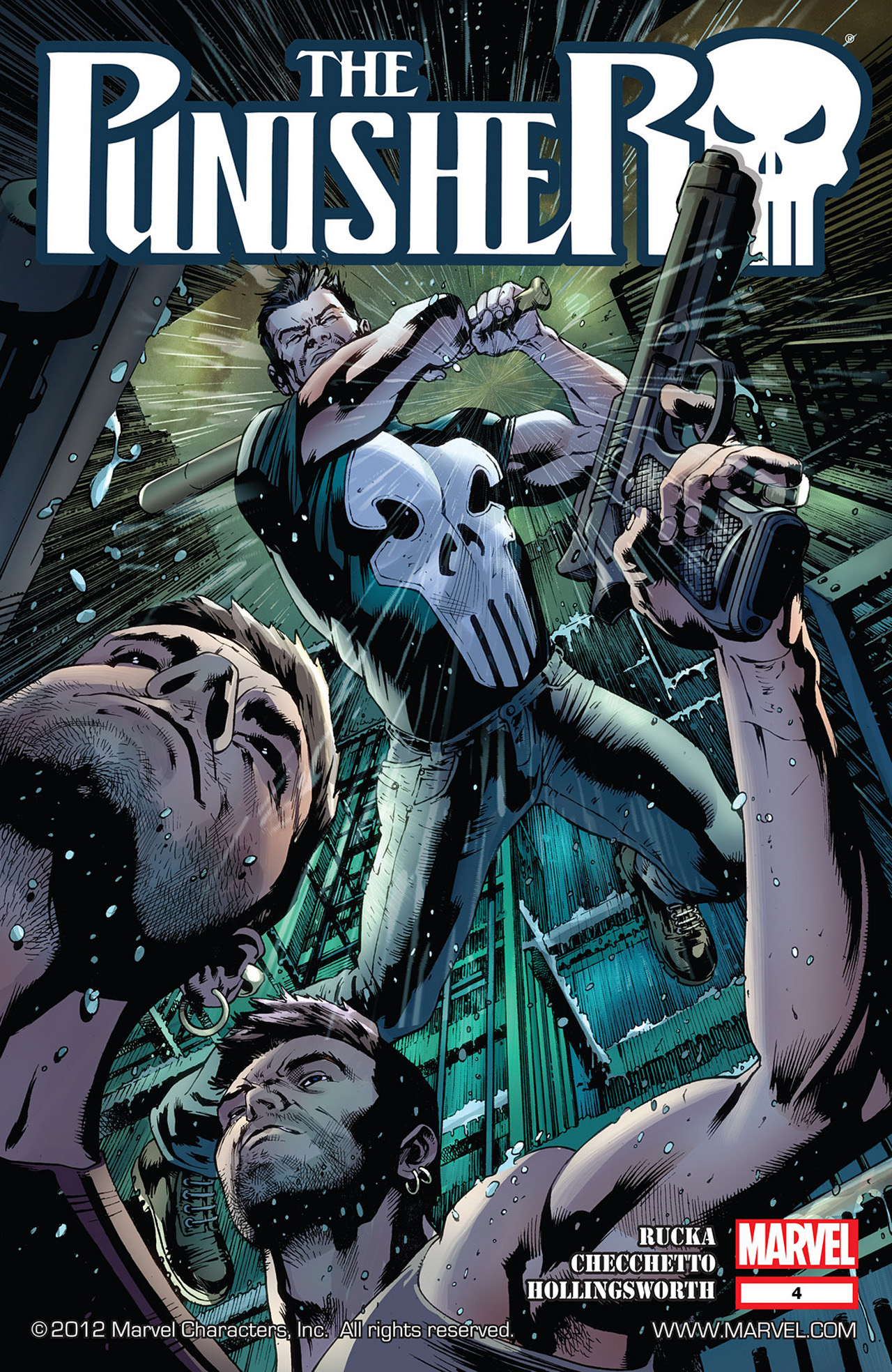 The Punisher (2011) 4 Page 1